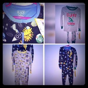 4t boys pajamas